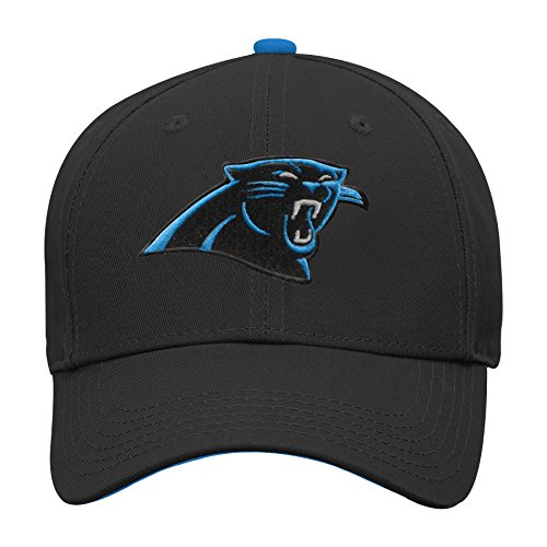 - Outerstuff NFL NFL Carolina Panthers Youth Boys Basic Structured Adjustable Hat Black, Youth One Size