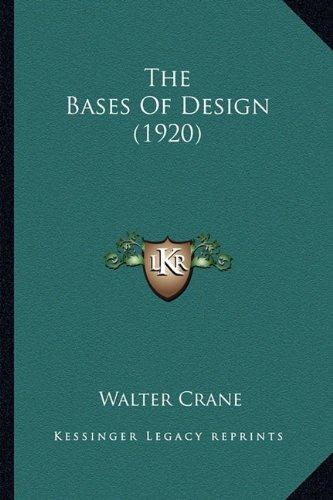 Download The Bases Of Design (1920) pdf epub