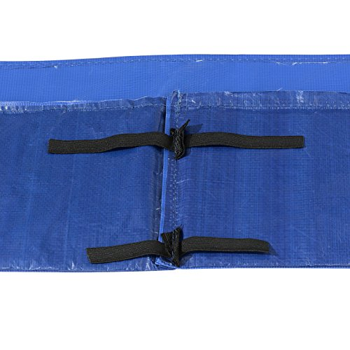 Upper Bounce Super Trampoline Replacement Safety Pad (Spring Cover) for 8' x 14' Rectangular Frames, Blue by Upper Bounce (Image #1)