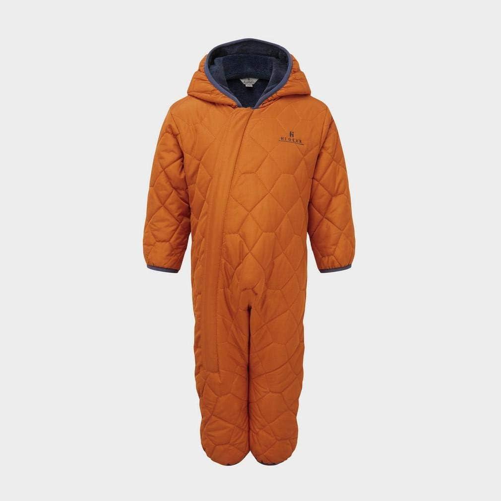 Orange//Blue Age 2-3 HI-GEAR Boys Geo Snuggle Suit