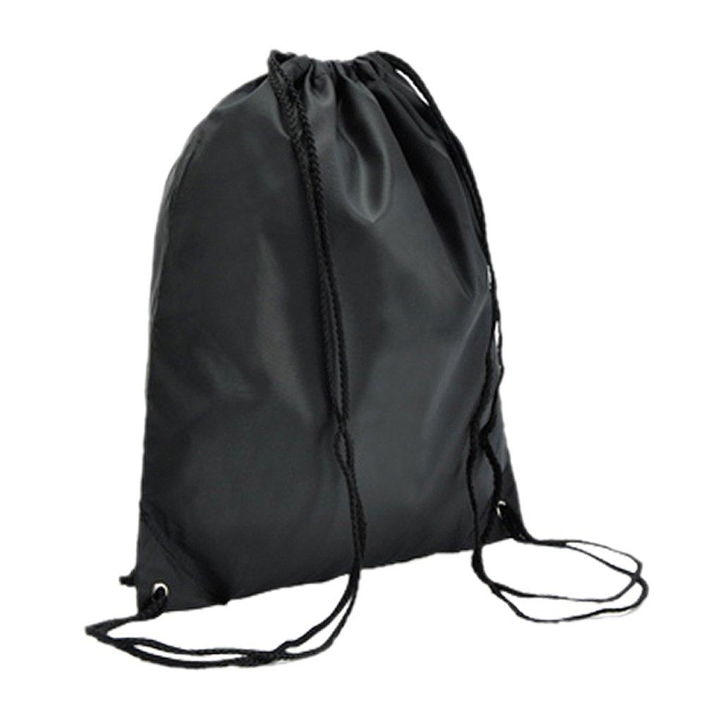 TOOGOO Bolsa de libros con cordon escolar Mochila de zapato de baile deportivo PE nadar gimnasio deportivo -azul real TOOGOO(R) SHOMAT10634