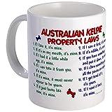 CafePress - Australian Kelpie Property Laws 2 Mug - Unique Coffee Mug, Coffee Cup