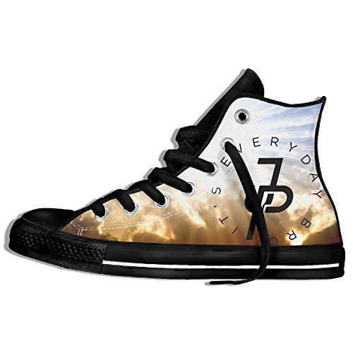 Jake Paul JP Logo High Top Sneaker Canvas Shoes Man Girls Lace-up Skate Sneakers