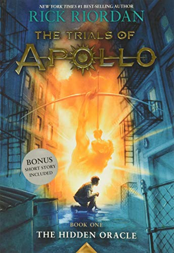 Book : Trials Of Apollo, The Book One The Hidden Oracle -...