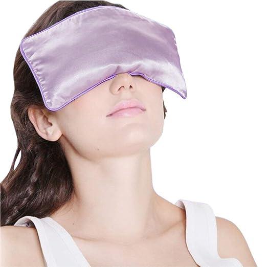 Yoga Eyepillows Seda Pura Lleno de Semillas de Lino y ...
