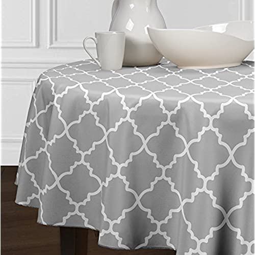 Charmant Modern Round Tablecloth