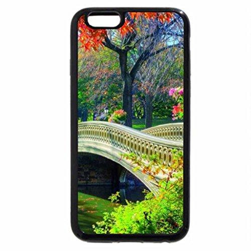 iPhone 6S / iPhone 6 Case (Black) Bridge To Autumn