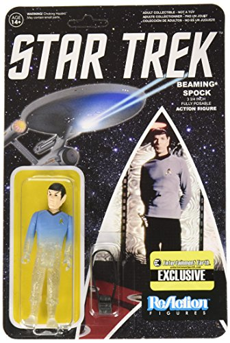 Star Trek: The Original Series Beaming Spock ReAction 3 3/4-Inch Retro Action Figure - Limited Edition