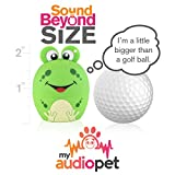 My Audio Pet Mini Bluetooth Animal Wireless Speaker with True Wireless Stereo Technology – Pair with Another TWS Pet for Powerful Rich Room-Filling Sound