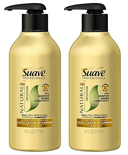 Suave Professionals Natural Infusion Strengthening Light Lea