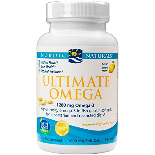 Nordic Naturals - Ultimate Omega Fish Gels, Support for a Healthy Heart, 60 Soft Gels