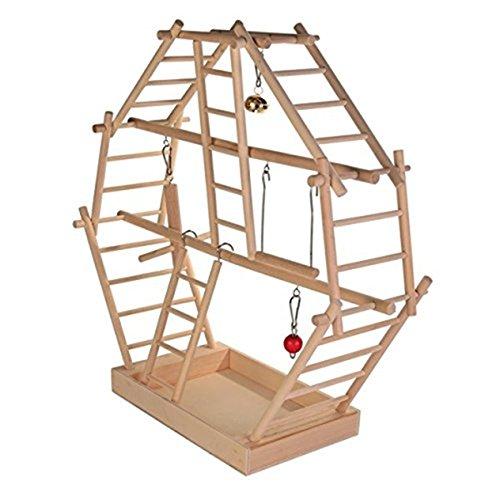 Trixie 5659 Holz-Leiterspielplatz 44 × 44 × 16 cm