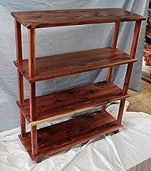 Cedar bookshelf, bookshelf, living room ...