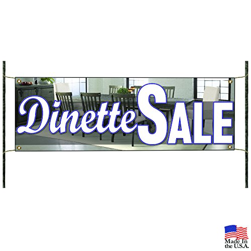 Dinette Sale Kitchen Furniture Home Business Advertising Vinyl Banner Sign (Sale Breakfast Nook)
