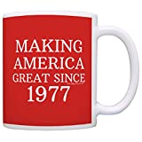 40th Birthday Gifts For All Making America Great Since 1977 Republican Mug Republican Gifts Coffee Mug Tea Cup Red
