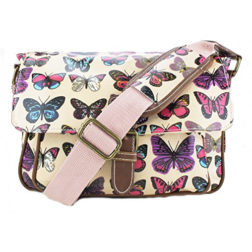 Bag Butterfly Lulu Small Satchel Miss Print Pink Oilcloth xqT7Swp