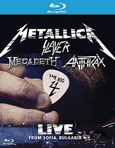 (The Big 4 Metallica Slayer Megadeth Anthrax: Live from Sofia, Bulgaria [Blu-ray])