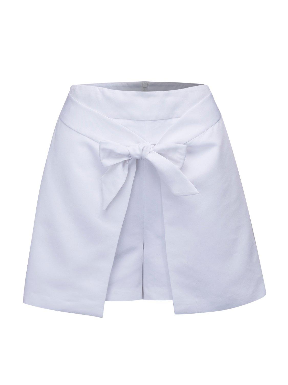 Women's Casual Short Skirts, Tulip Shorts Skorts White/Black