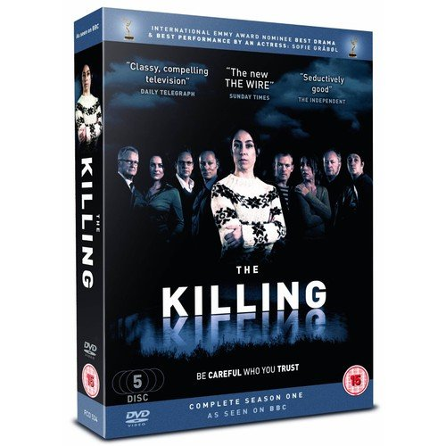 The Killing - Complete Season 1 (5 discs) ( Forbrydelsen (Forbrytelsen) ) ( The Killing - Complete Season 1 ) [ NON-USA FORMAT, PAL, Reg.2 Import - United Kingdom ]