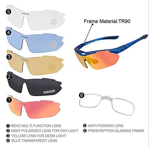 Sport de Et Soleil Lunettes Homme Lunettes Femmes De Plein Red en pour LBY Hommes Couleur Air Bleu vCqWwX