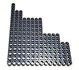 LEGO Technic beam set DB gray size 15,13,11,7 & 5 (14 pieces)
