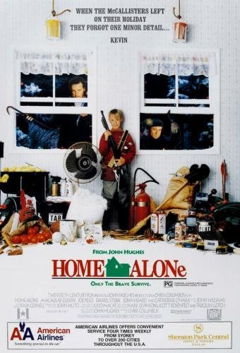 Home Alone Movie Poster 11x17 Master