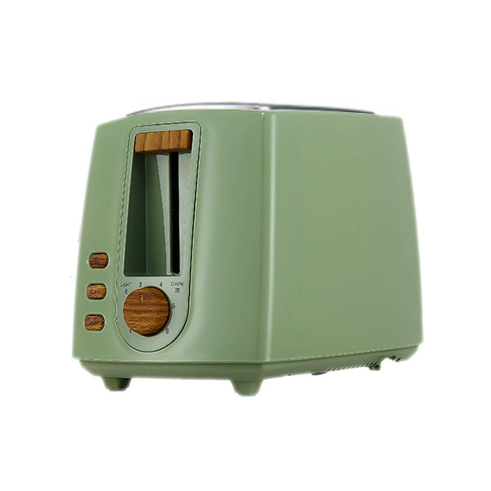 Gyswshh 2-slice Automatic Electric Toaster, Breakfast Maker,Household Bread Toast Machine Green by Gyswshh (Image #1)