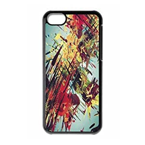 XiFu*Meiiphone 6 plua 5.5 inch Case,Complex Abstract Colorful 3D Drawing Hard Shell Back Case for Black iphone 6 plua 5.5 inch Okaycosama360557XiFu*Mei