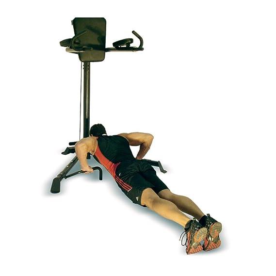 Fitness Inspire Chin Dip / - VKR Multi-uso, altura: 2 metros, peso Trainer DVD e hinchador para Pilates, para levantamiento de pesas, entrenamiento, ...