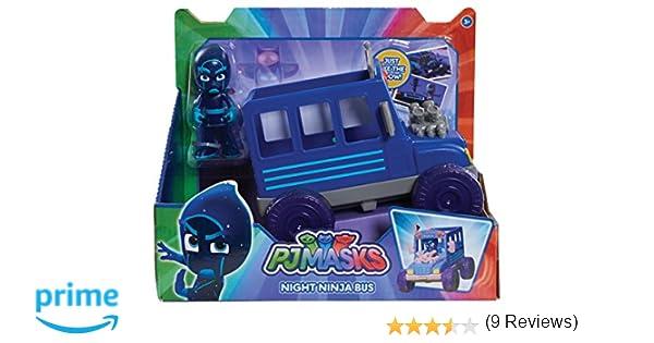 PJ Masks - Autobús Ninja Nocturno (Bandai 24579): Amazon.es: Juguetes y juegos
