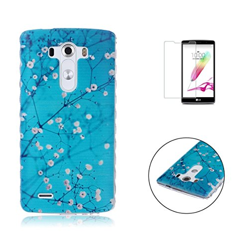 LG G4 Case Transparent Silicon Cover Sireken Clear Soft Gel TPU Silicone Ultra Thin for LG G4 [Plum (Disney Characters Male)