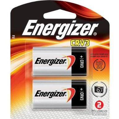 Energizer Crv3 Battery (CRV3 3-Volt Lithium Battery - 2 Pack)