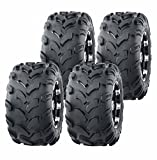 Set of 4 New WANDA Sport ATV Tires 18X9.5-8 & 19x7-8 4PR 10001/10002
