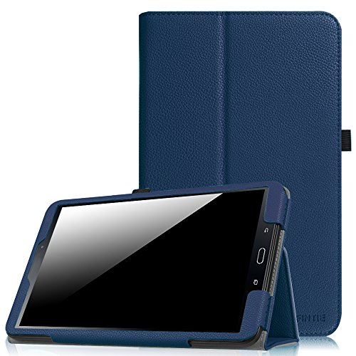 Fintie Folio Case for Samsung Galaxy Tab A 10.1 (2016 NO S Pen Version), Premium PU Leather Slim Fit Smart Stand Cover with Auto Sleep/Wake for Galaxy Tab A 10.1 (SM-T580/T585/T587), Navy