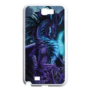 Samsung Galaxy N2 7100 Cell Phone Case White_Talisman Dragon TR2361807