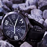 Gorgeous Oversize Dial Cool Men's Army Military Luxury Sport Quartz Wrist Watch