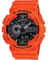 Casio G-Shock Rescue Black Dial Resin Multi Quartz Men's Watch GA110MR-4A