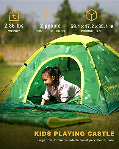 KingCamp JUNIOR 2-Person Youth Ultra light Children Playing Tent