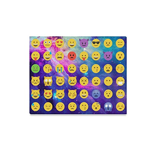 Emoticons Emoji Bedroom Wall Art Pictures