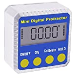 Digital Bevel Box Inclinometer Protractor Angle Finder with Magnets