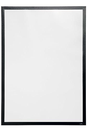 2 St/ück silber A4, Rahmen f/ür Schaufenster Durable 484123 Info-Rahmen Duraframe Sun