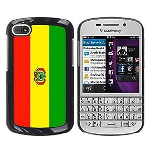 - Flag - - Fashion Dream Catcher Design Hard Plastic Protective Case Cover FOR BlackBerry Q10 Retro Candy