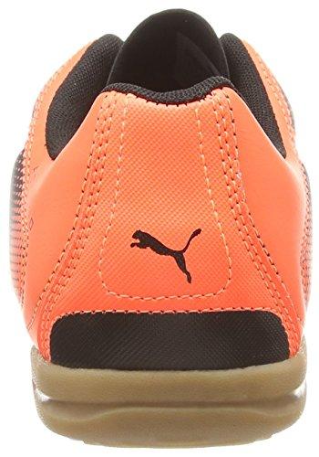 Puma Adreno IT - zapatillas de fútbol de material sintético hombre negro - Schwarz (black-white-lava blast 05)