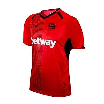 KELME D. Alavés Portero Equipación 2018-2019, Camiseta, Rojo: Amazon.es: Deportes y aire libre