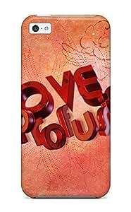 Nafeesa J. Hopkins's Shop 9527311K85525999 Series Skin Case Cover For Iphone 5c(love Profusion)