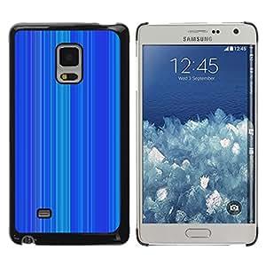 iKiki Tech / Estuche rígido - Stripe Pattern Vertical Lines - Samsung Galaxy Mega 5.8 9150 9152