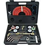 Neiko® 10921 Gas Welding and Cutting Torch Kit | Victor Type with Case