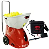 Lobster Elite Freedom Tennis Ball Machine bundled with External Battery Pack