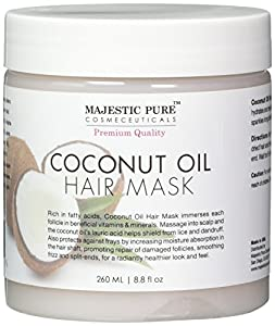 2. Majestic Pure Coconut Oil Hair Mask