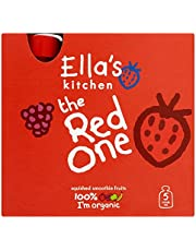 Ella's Kitchen The Red One Organic Smoothie Fruits Multipack 5 x 90 g (Pack of 6, Total 30 Packets)